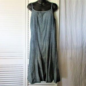 Lauren Ralph Lauren medium wash dress 10